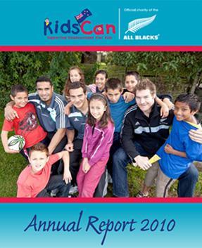 KidsCan Annual Report 2010